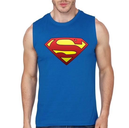superman blue vest