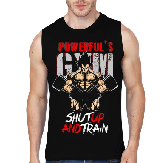 vegeta train black vest