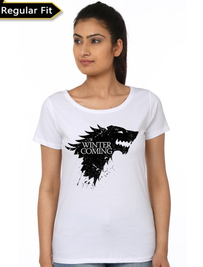 winter is coming white top