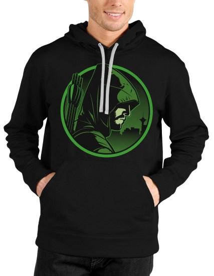 arrow black hoodie