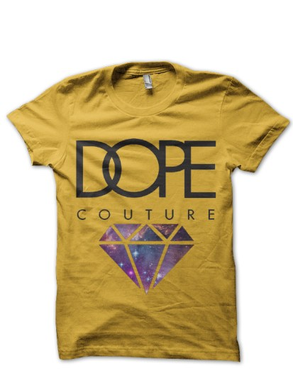 swag dope yellow tee
