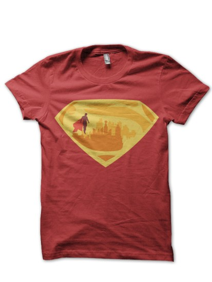 super city red tee