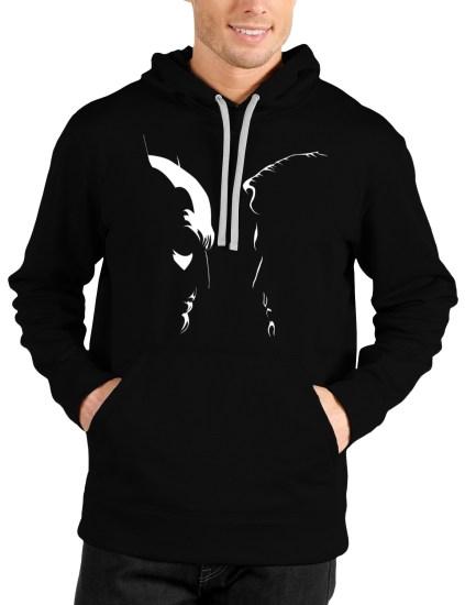 batman vs superman black hoodie