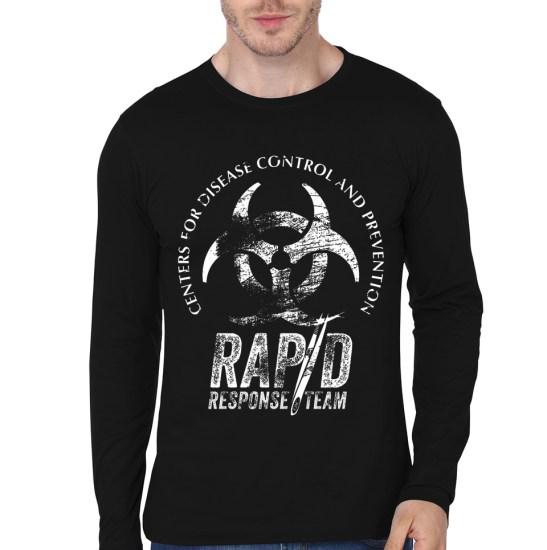 rapid black tee
