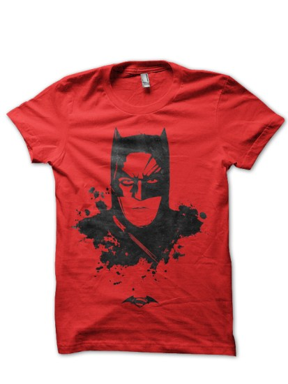 batman red tee