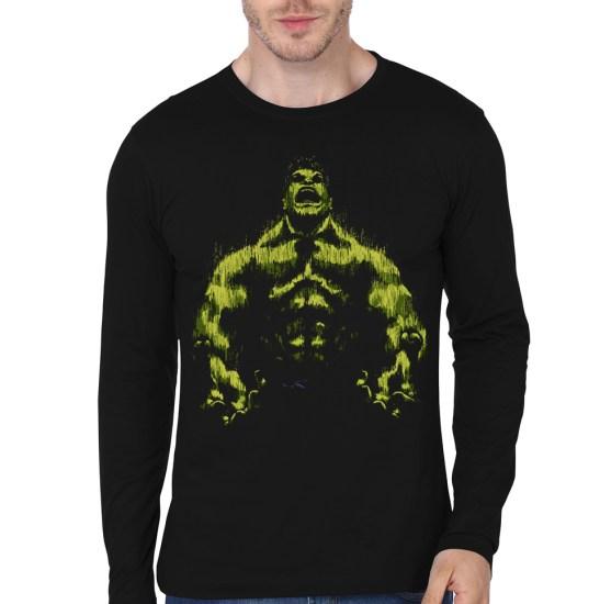 hulk black full sleeve ee