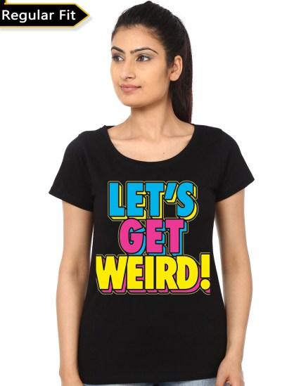 lets get crazy black girls tshirt