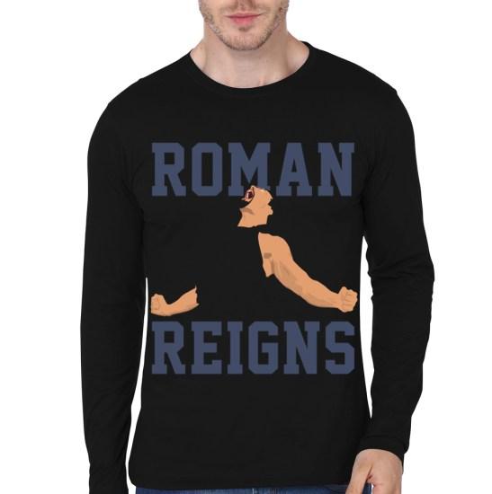 roman reign black full sleeeve t-shirt3