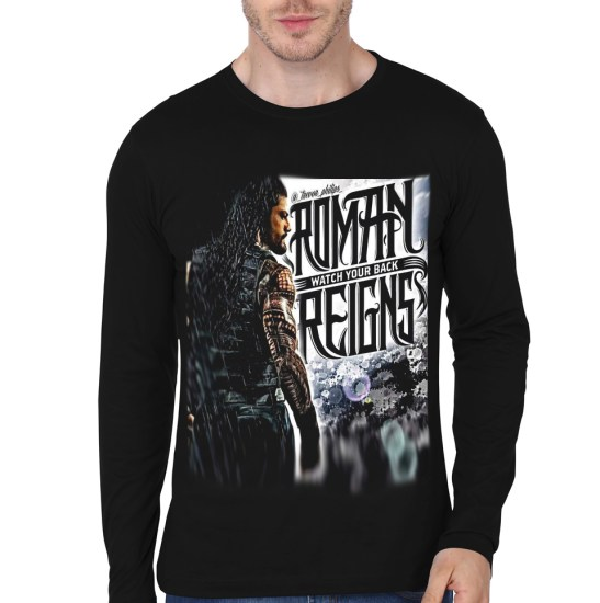roman reign black full sleeve t-shirt