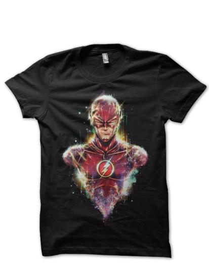 flash black t-shirt