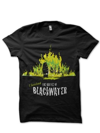 blackwater black t-shirt