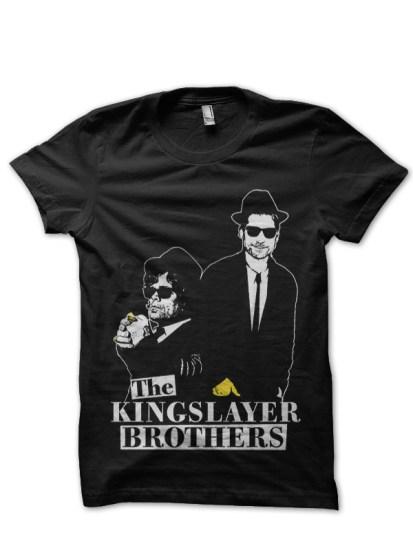 lannister brothers black t-shirt