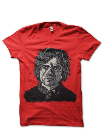 tyrion red t-shirt