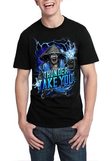 raiden black t-shirt