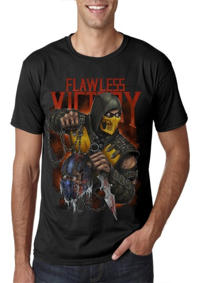 scorpio black t-shirt