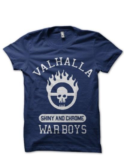 war boys navy tee