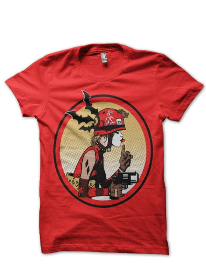 batman 2 red tee