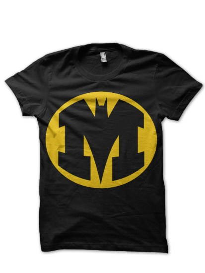 batman 3 black tee