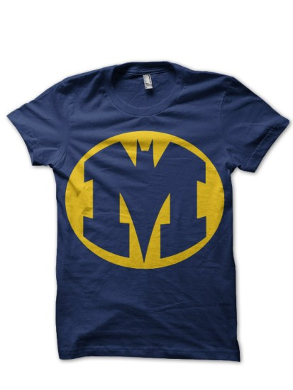 batman 3 navy tee