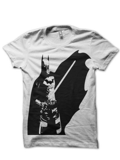 batman white tee