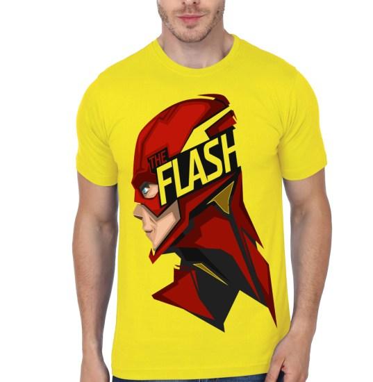 flash yellow tee