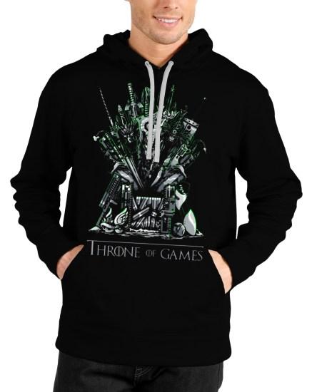 game of thrones black hoodie