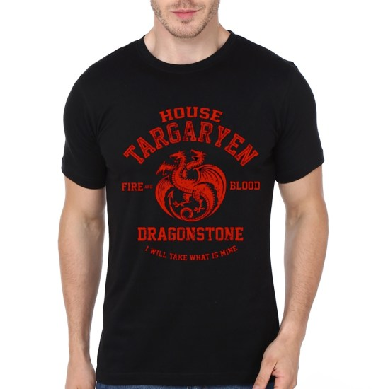 house-targaryen-black-tee