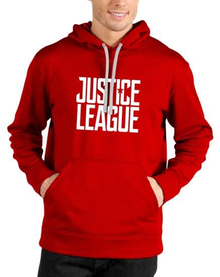 justice league red hoodie