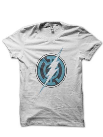 justice league12 white tee