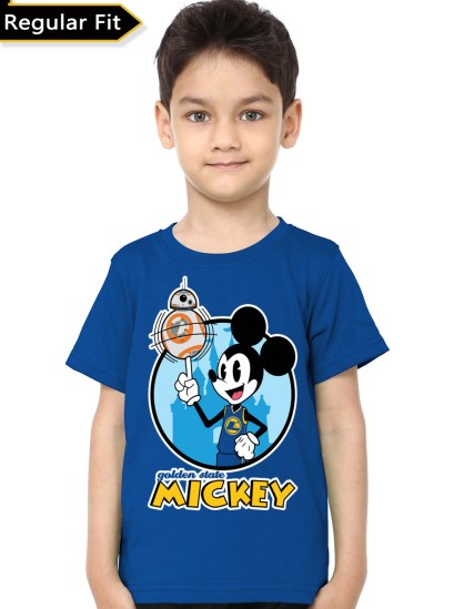mickey mouse  blue tee