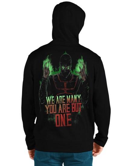 mortal komat1back hoodie