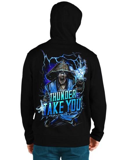 mortal komat3 back hoodie