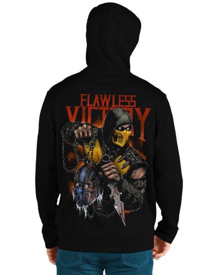 mortal komat5 back hoodie