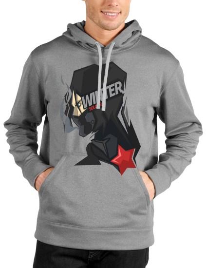 soilder grey hoodie