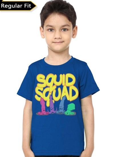 squad royal blue tee