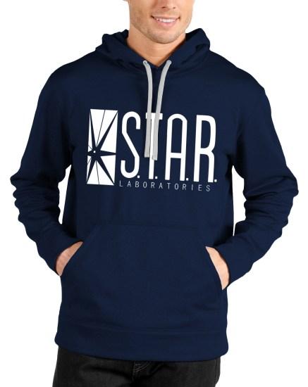 star labroratories navy blue hoodie
