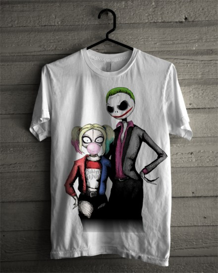 joker-and-quinn-white-tee