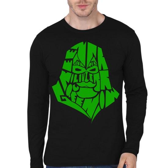green-arrow-black-full-sleeve-tee