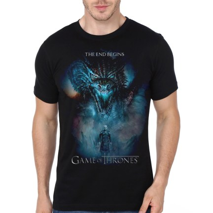 the end begins black t-shirt