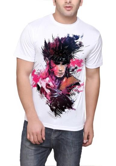 gambit white t-shirt