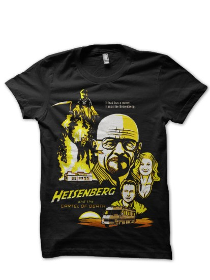 heisenberg black t-shirt