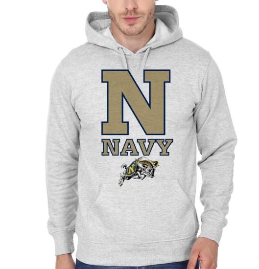 navy grey hoodie