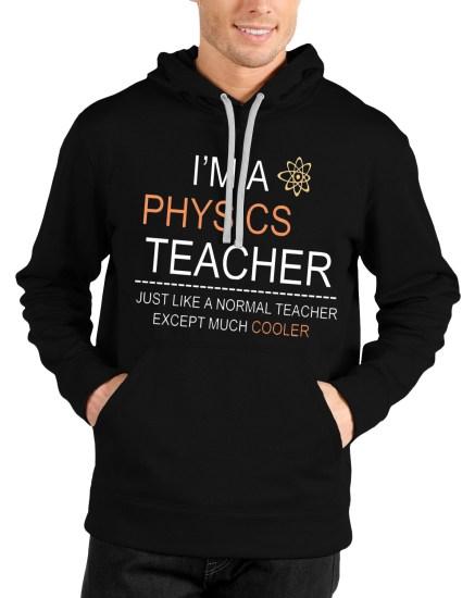physics black hoodie