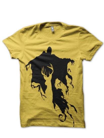 Harry Potter Dementor Yellow T-Shirt