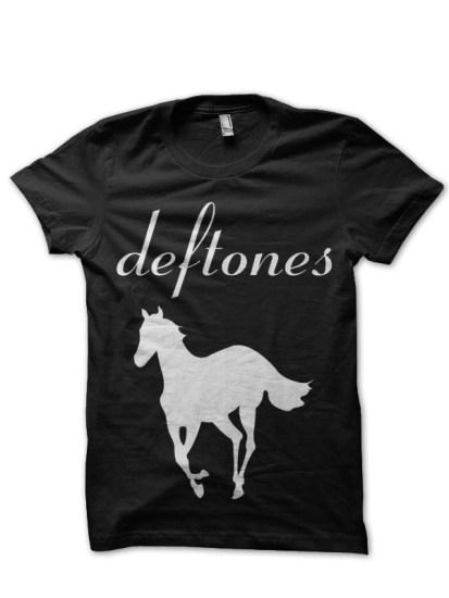 deftones black tee