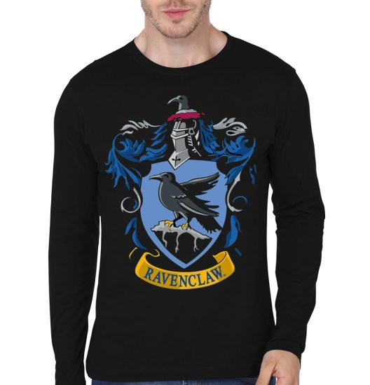 ravenclaw black full sleeve tee