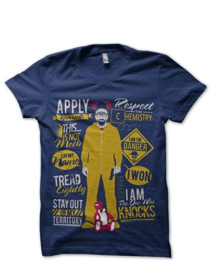 apply navy blue tshirt