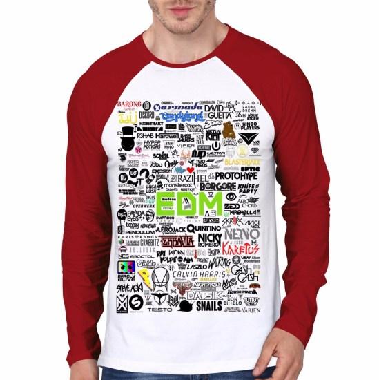 edm raglan tshirt