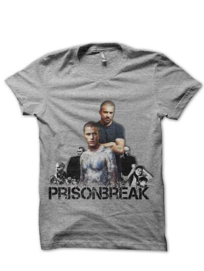 prison break grey tshirt