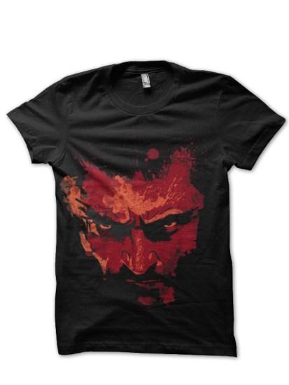 red logan black tshirt